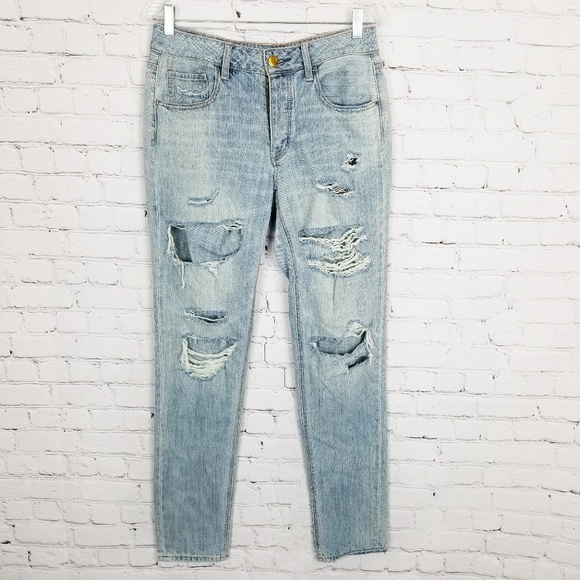 American Eagle Outfitters Denim - American Eagle Outfitters|Destroyed Tomgirl Jeans